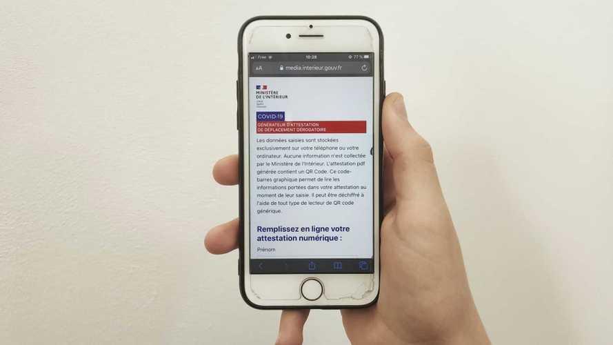 L'attestation de déplacement est enfin disponible sur smartphone !