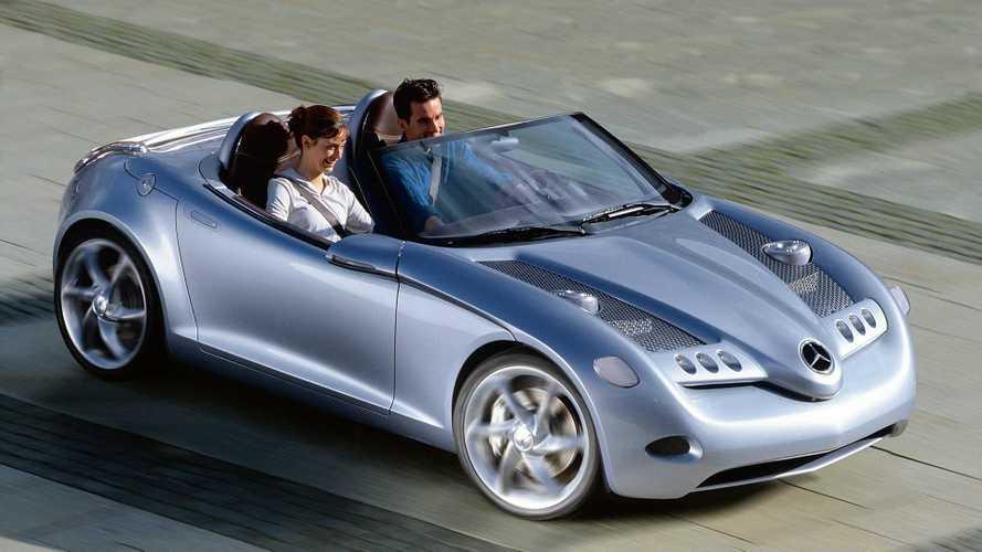Prototipos olvidados: Mercedes-Benz Vision SLA (2000)