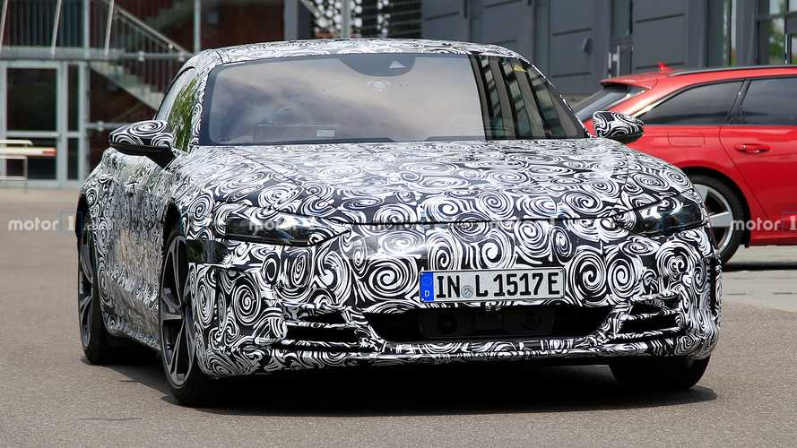 Audi E-Tron GT New Spy Photos