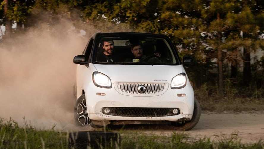 Watch This Off-Roading Video Featuring A Smart ForTwo Electric Car