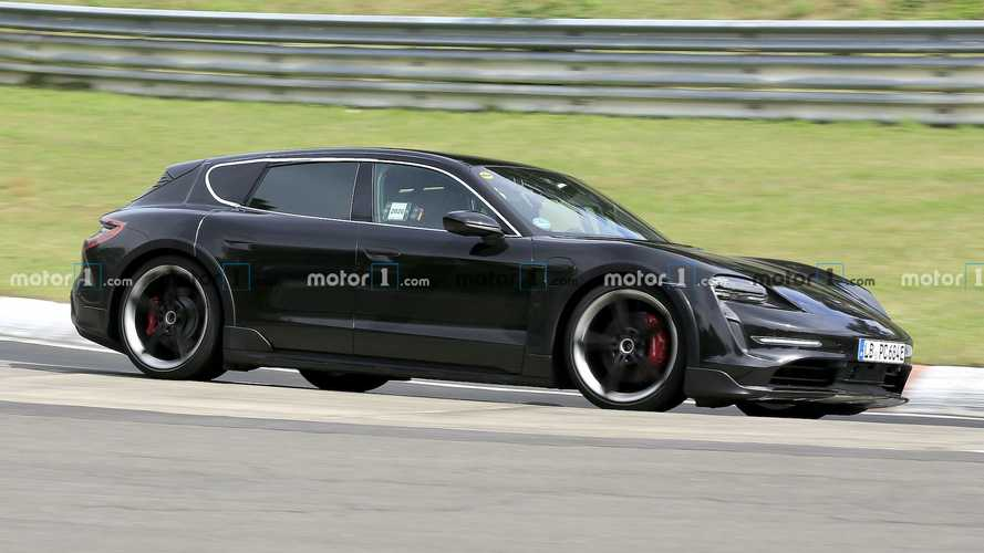 Porsche Taycan Cross Turismo Spied At The Nurburgring