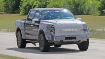 2021 Ford F-150 Raptor Spy Photos