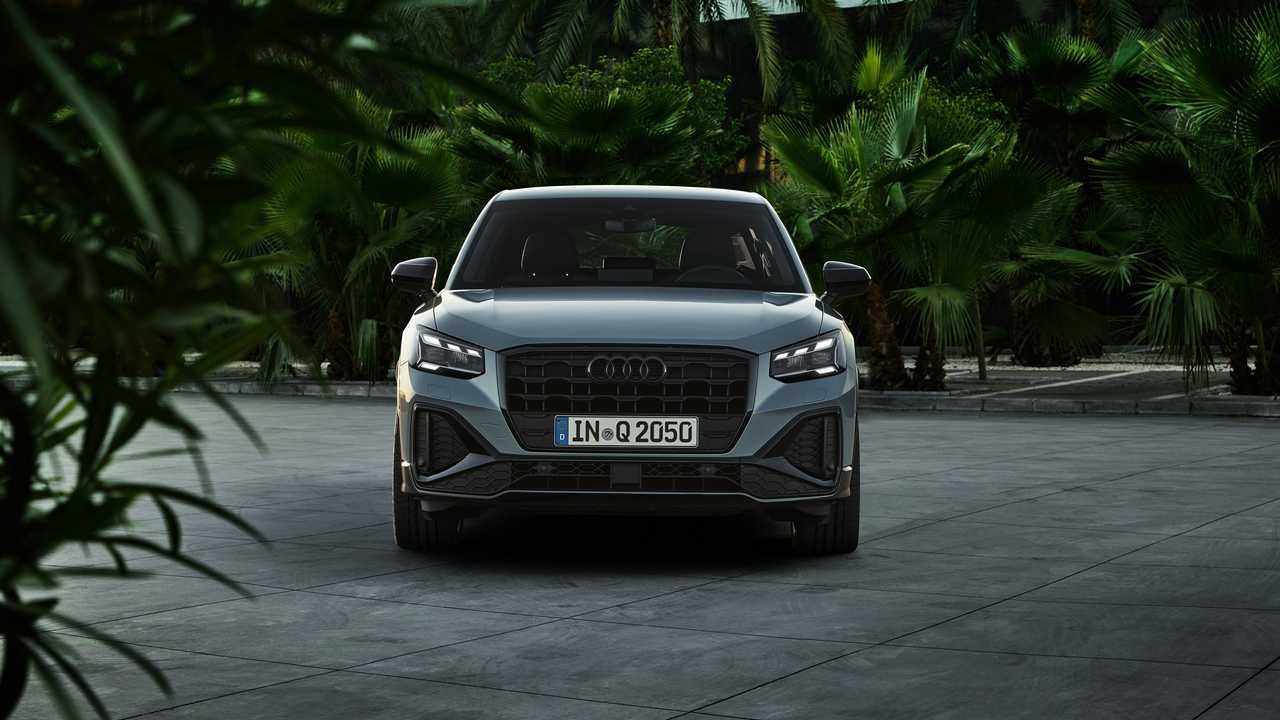 Audi Q2 2021, frontale