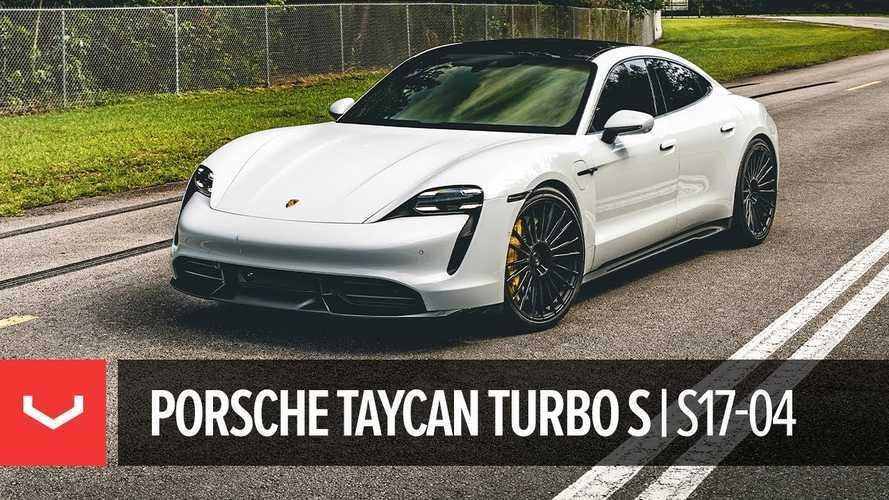 Porsche Taycan Turbo S Look Is Transformed By These Vossen Wheels