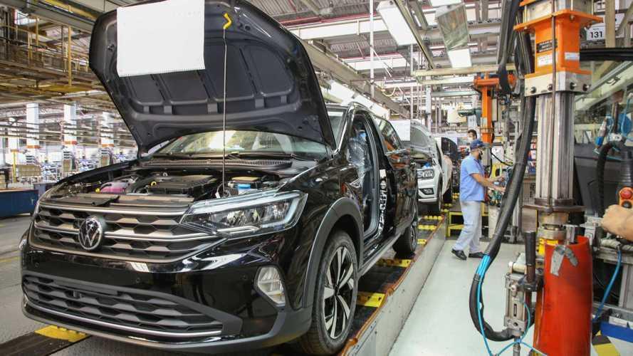 Novo VW Nivus 2021 começa a ser produzido e chega às lojas ainda em junho