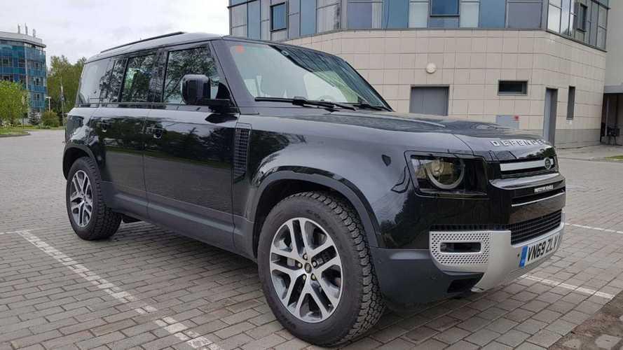 В Москве замечен Land Rover Defender нового поколения