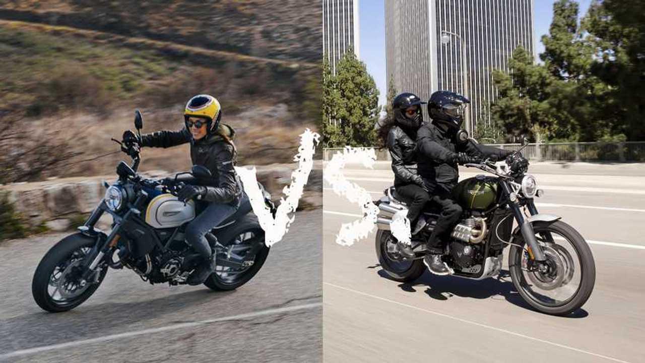 Spec Showdown: Ducati Scrambler 1100 Pro Vs. Triumph Scrambler 1200