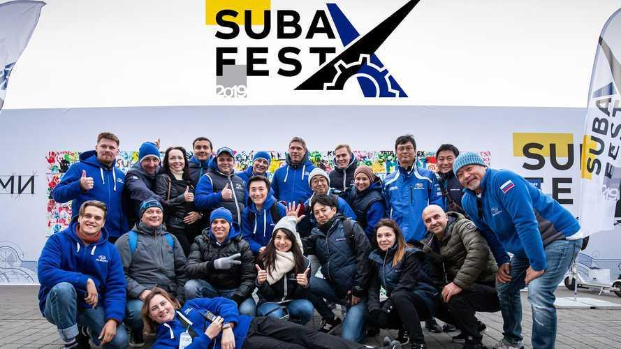 Subaru в России разменяла третий десяток