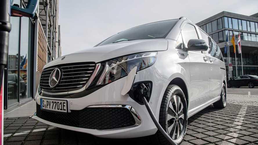 Электрический минивэн Mercedes EQV стал серийным