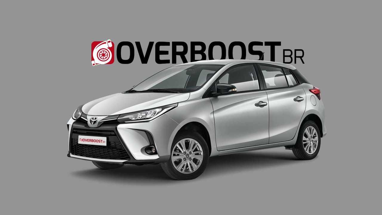 Projeção - Toyota Yaris 2021