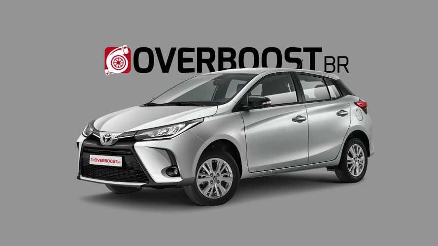 Toyota Yaris 2022: projeção antecipa mudanças reveladas em patente