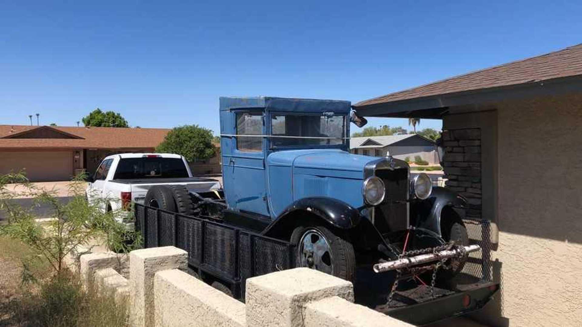 Craigslist Find 1931 Chevy 1 5 Ton Truck With Original Parts