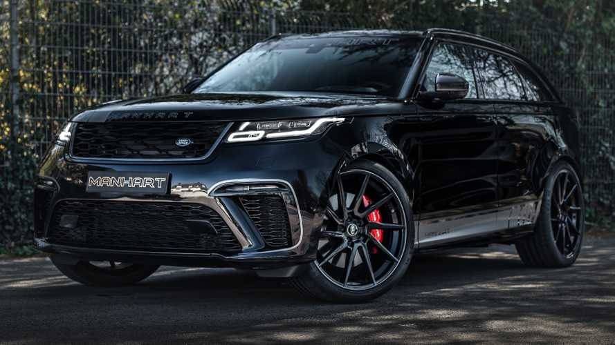 Range Rover Velar by Manhart combines stealthy look with 600 bhp