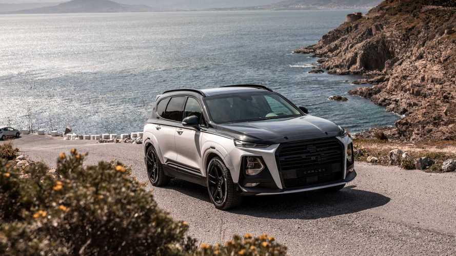 Carlex Design, Hyundai Santa Fe'ye çok sportif bir görünüm katmış
