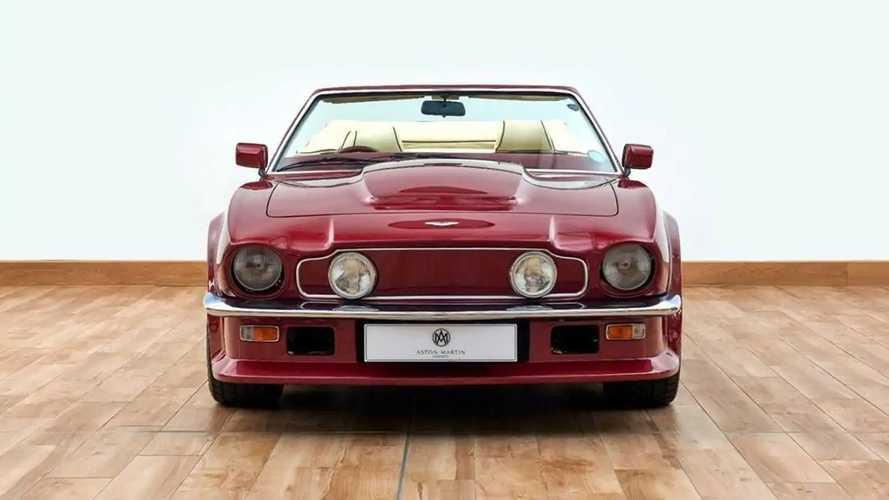 Бывший кабриолет Aston Martin Дэвида Бекхэма сменит владельца