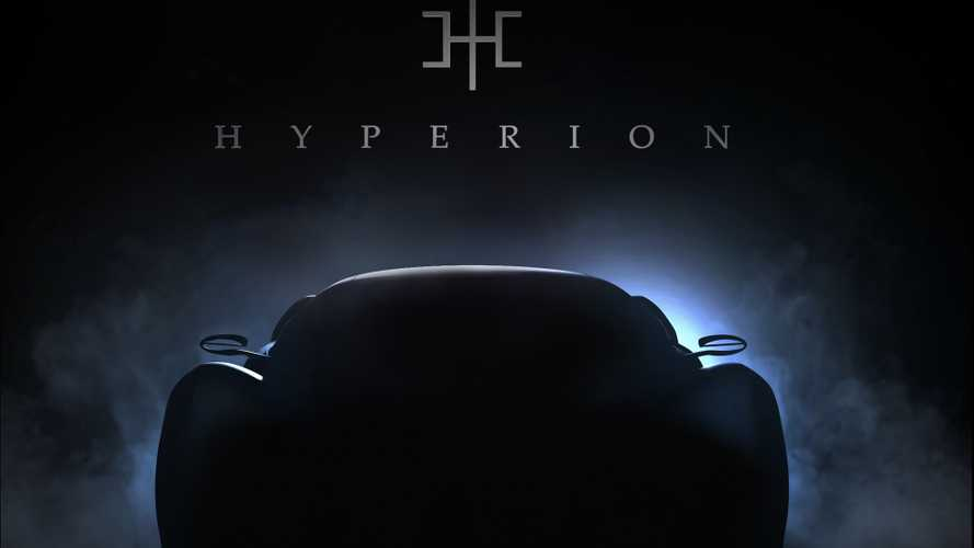 Hyperion XP-1 hydrogen-powered electric supercar teased again
