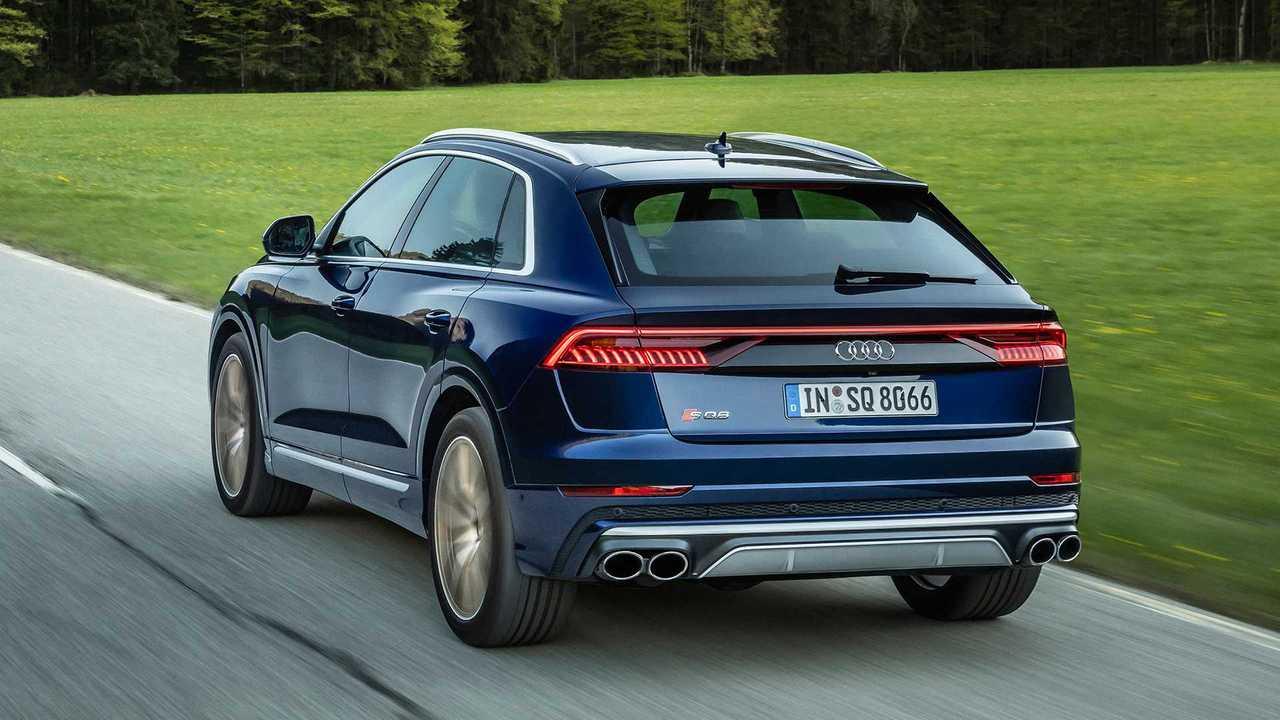 Audi SQ8 (2020) avec moteur V8 TFSI