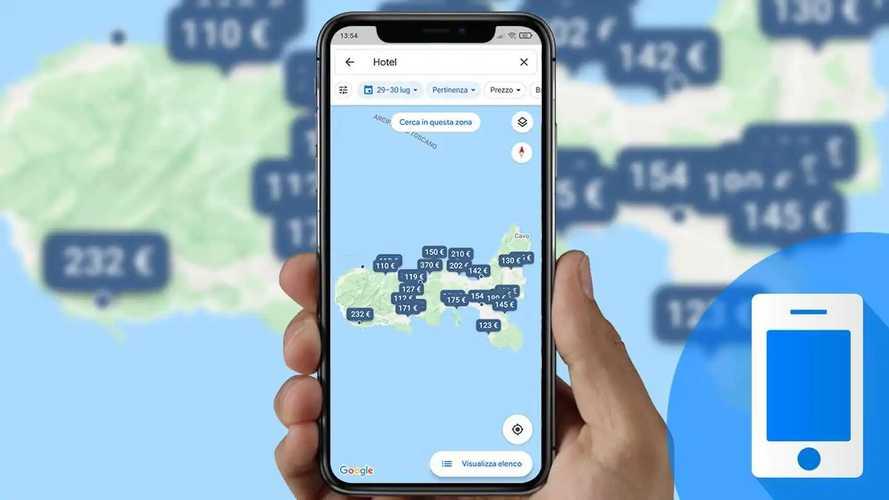 Viaggi in auto, come cercare gli hotel più convenienti con Google Maps