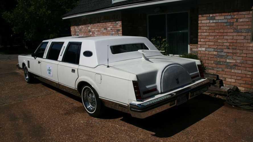 1980 Lincoln Mark VI limousine for sale