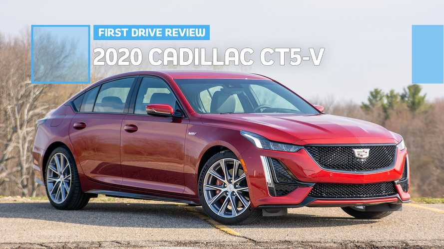 2020 Cadillac CT5-V First Drive: More Like V-Sport