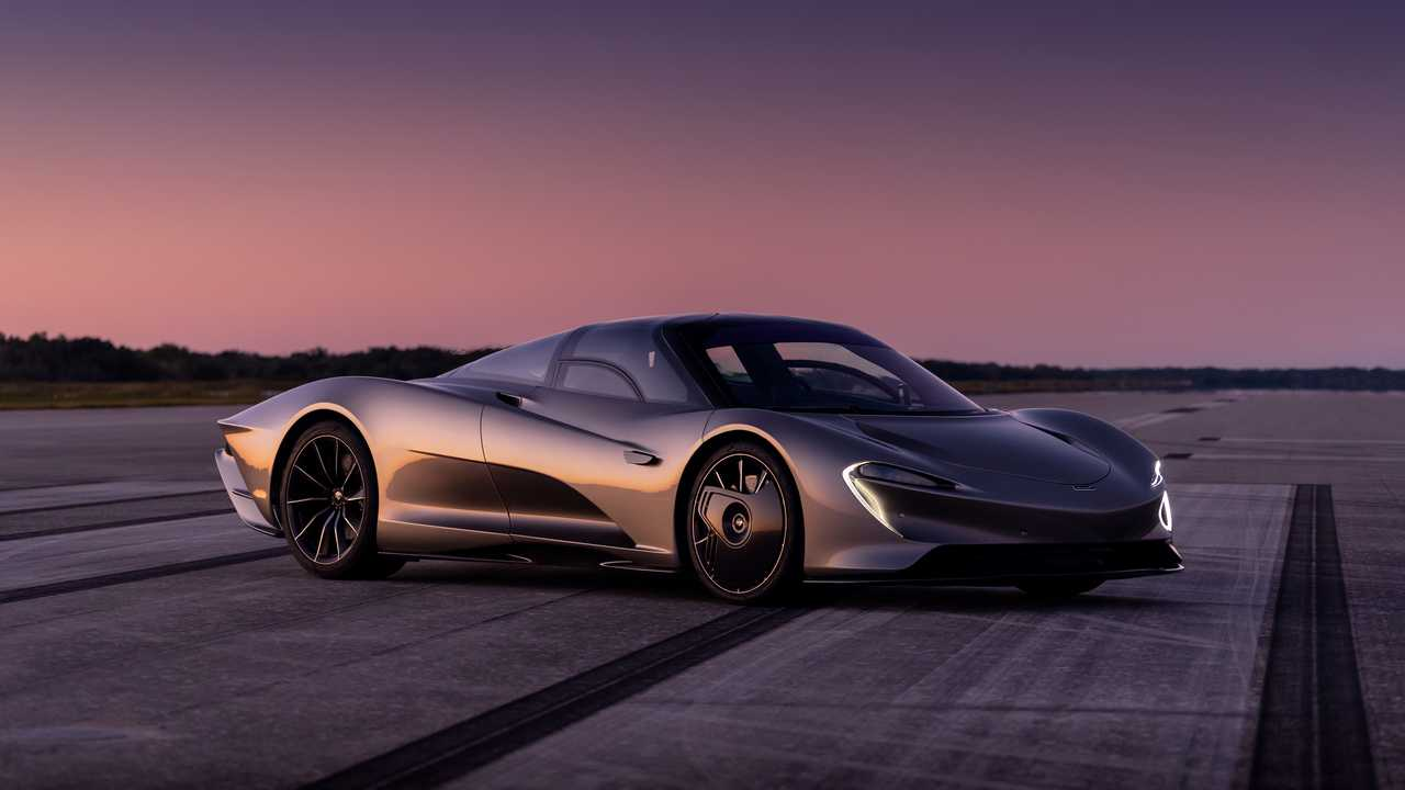 McLaren reveals Speedtail electric secrets