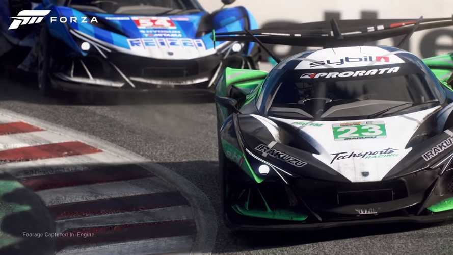New Forza Motorsport in-game trailer shows stunning graphics