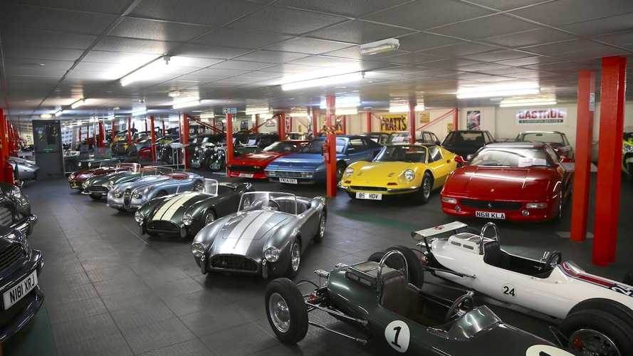 Inside Studio 434: Europe's largest classic car collection?