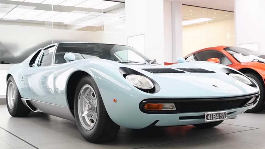 Lamborghini Miura SV Getting Paint Protection Is Therapeutic To Watch