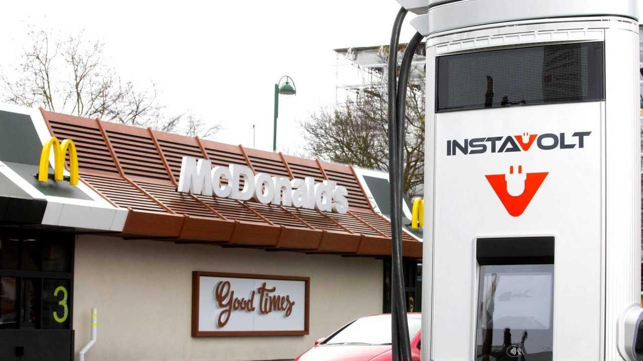 McDonalds - carregamento