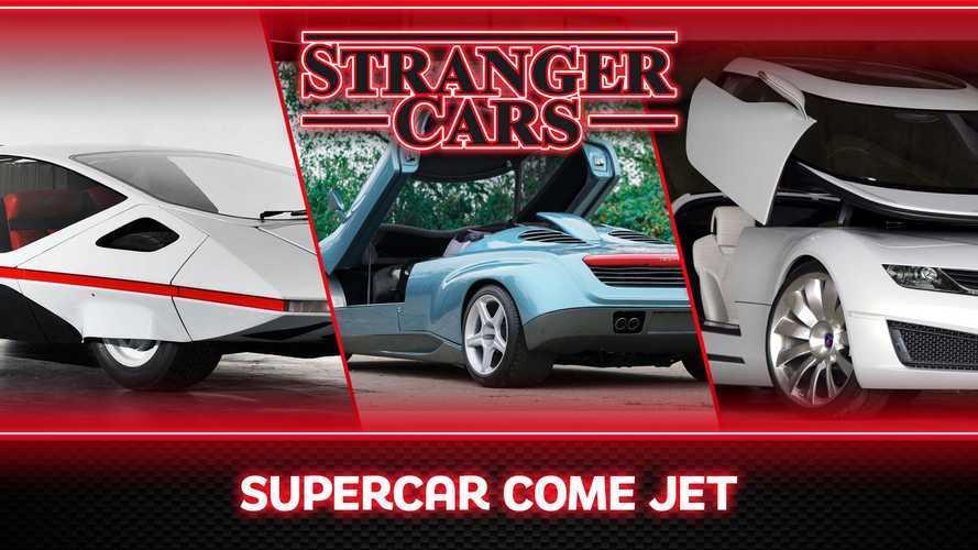 Stranger Cars, a metà tra auto e aerei supersonici