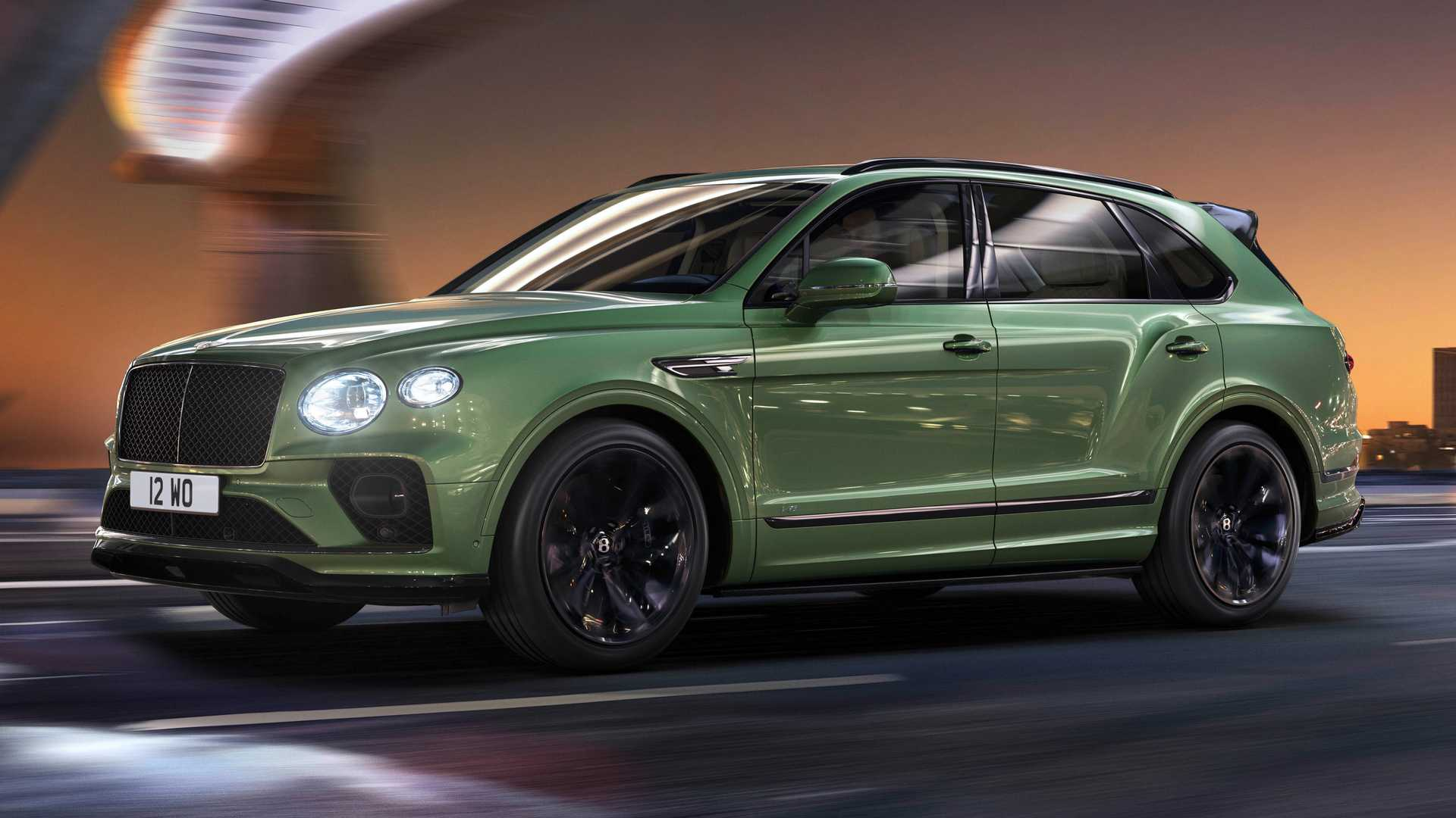 2021 Bentley Bentayga Debuts With New Exterior Look Tweaked Interior