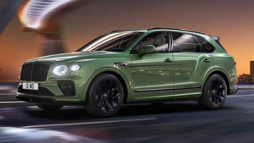 2021 Bentley Bentayga Debuts With New Exterior Look, Tweaked Interior