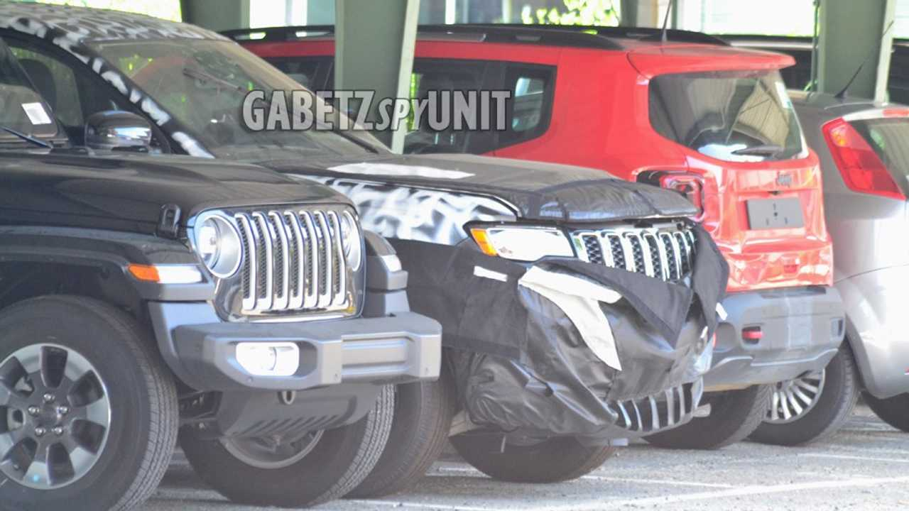 Jeep Grand Cherokee 2021 - Novo flagra