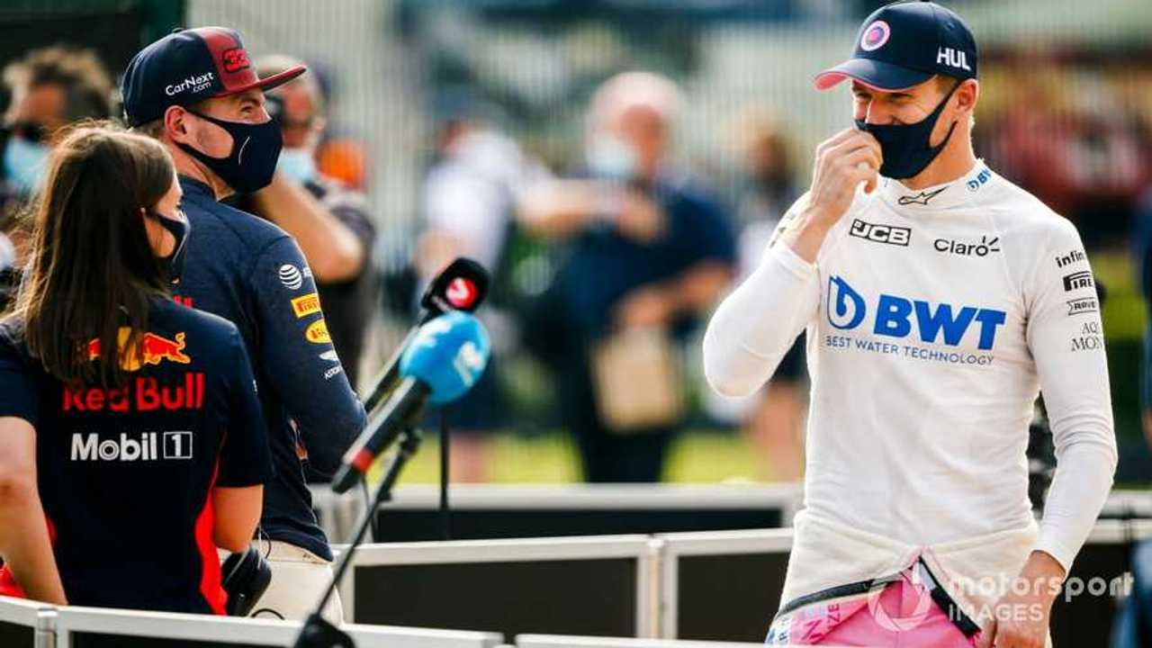 Nico Hulkenberg at 70th Anniv GP at Silverstone 2020