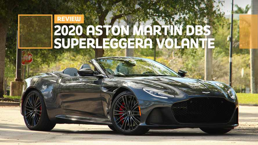 2020 Aston Martin DBS Superleggera Volante review: Superlative