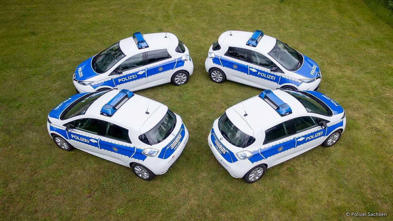 Polizeiautos in Deutschland: Renault Zoe