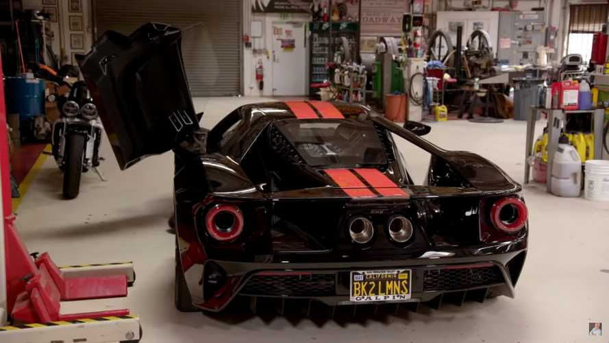 Listen To Jay Leno's Ford GT With Snarly Titanium Exhaust Uprgade