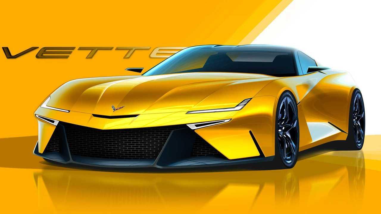 Next-Gen Chevy Corvette C9 Renderings