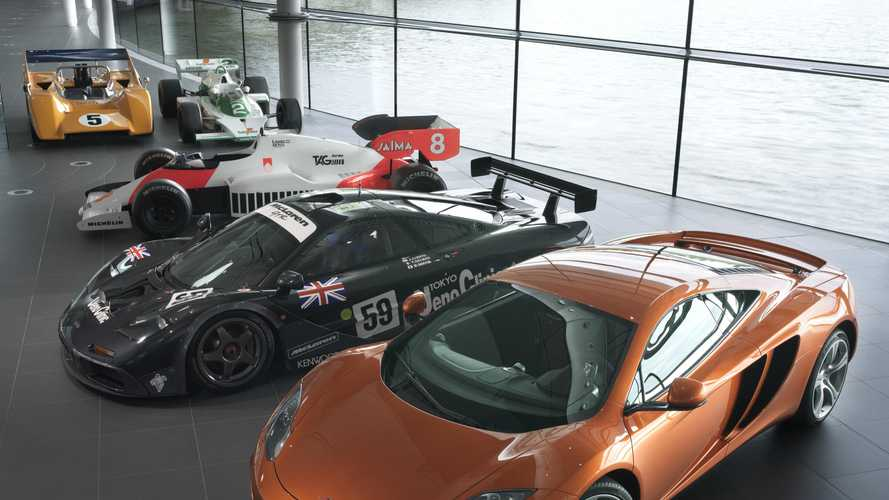 McLaren considering mortgaging factory, historic collection