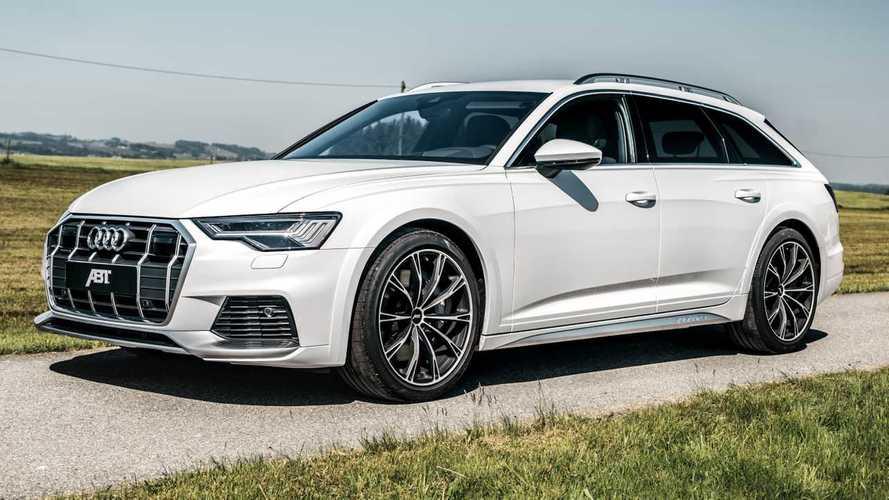 Audi A6 Allroad, con la cura ABT si arriva a 408 CV