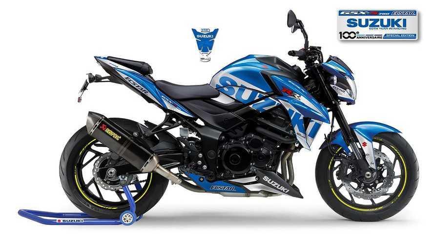 2020 GSX-S 750 MotoGP Replica