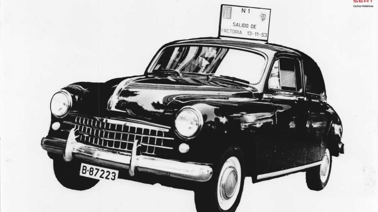 SEAT 1400, the first Spanish saloon, turns 65 years old