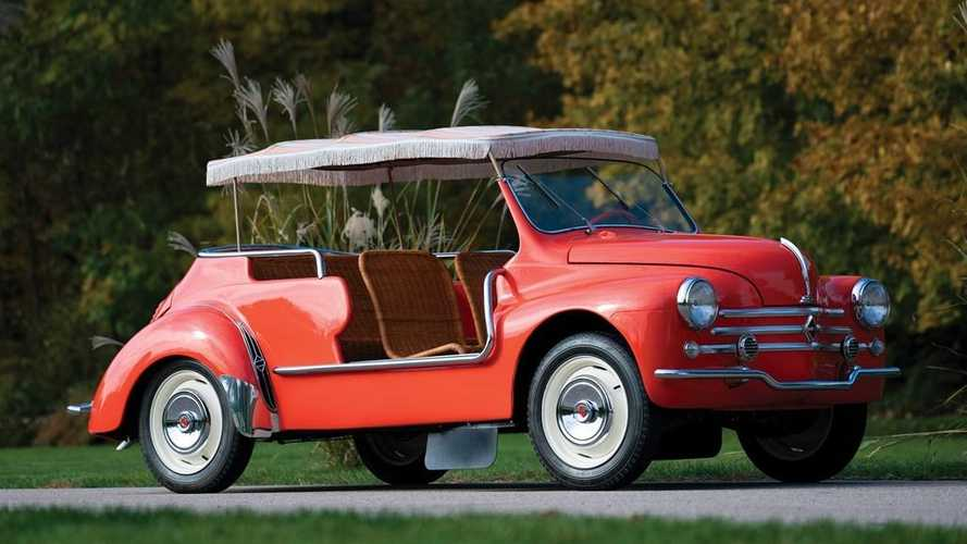 This Renault 4CV 'Jolly' is the ultimate 1960s curiosity