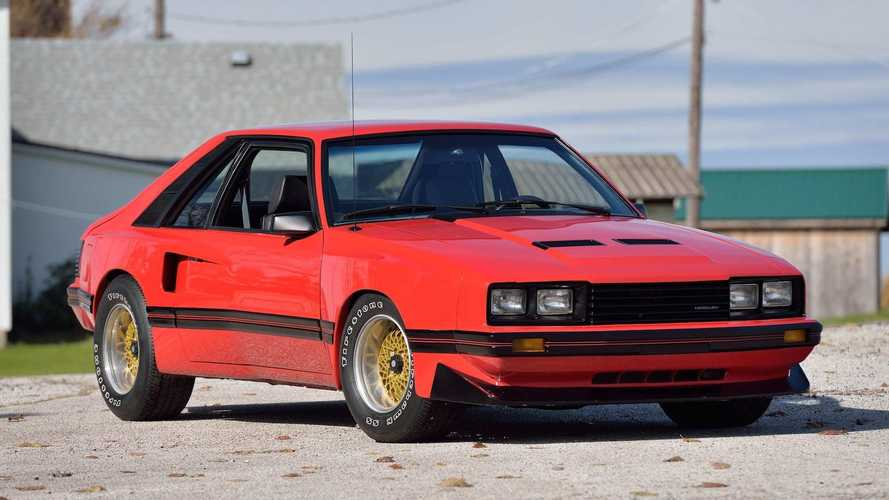 One-off 1980 Mercury Cosworth Capri joins collector auction