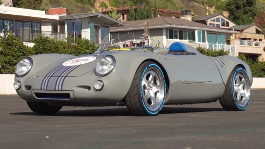 Porsche 550 Spyder Restomod Packs An Unlikely Engine Swap