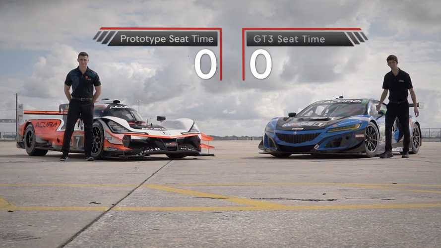 Acura Motorsports ARX-05 And NSX GT3 Drivers Swap Cars For Funsies