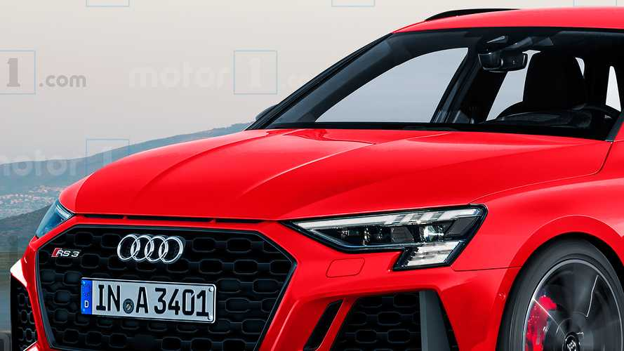 Audi RS 3 Sportback 2020, il rendering