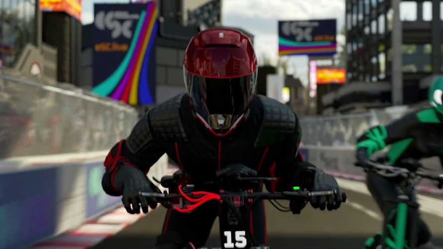 New Scooter Racing Series Launches With Tron-Like Visuals