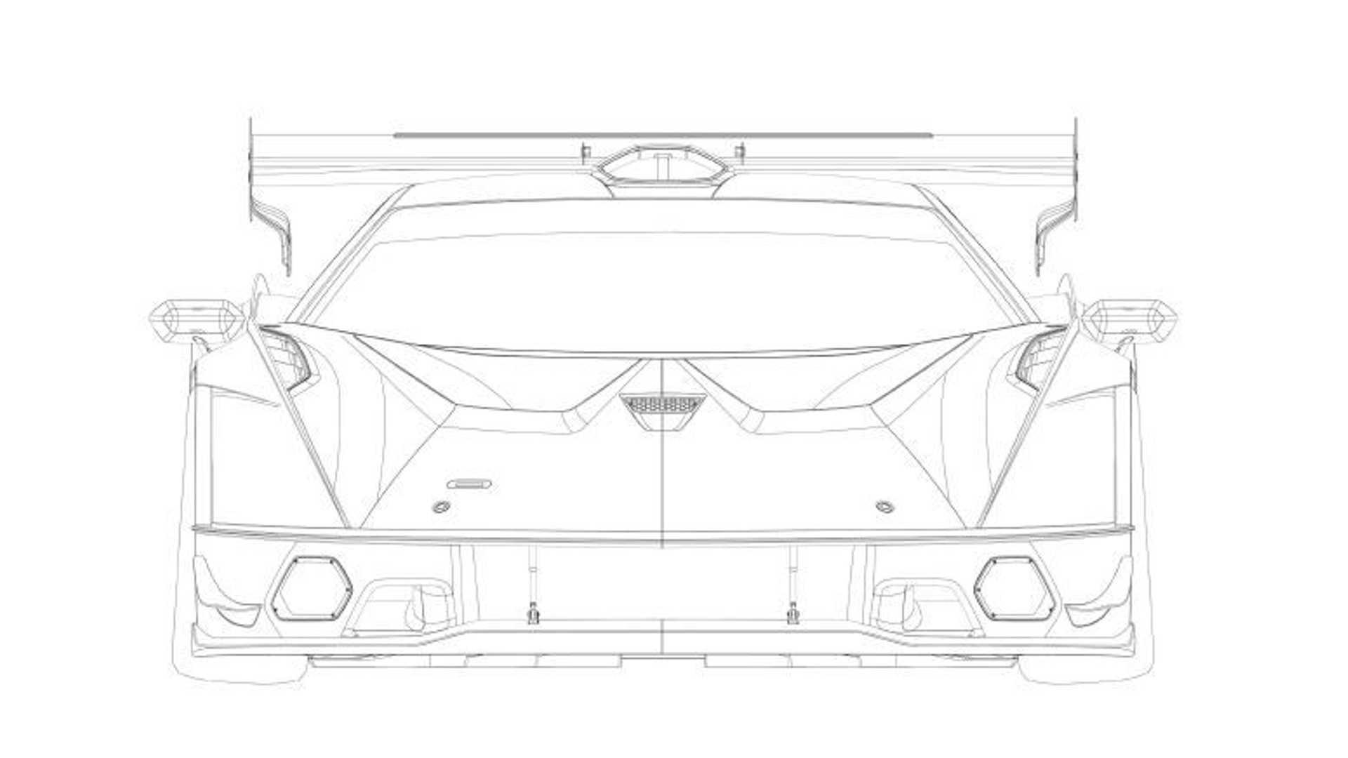 2020 - [Lamborghini] Essenza SCV12 Lamborghini-scv12-patent-filing