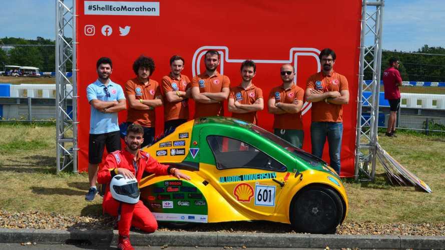 Shell Eco-Marathon Avrupa'da Türkiye damgası!